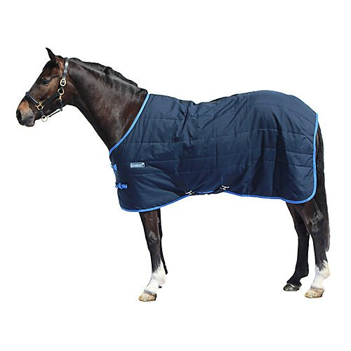 Pony Stable Sheet - Loveson Stable Rug 100g 66 Navy/Navy