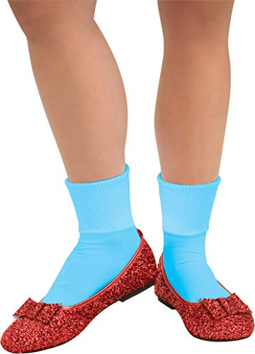 Rubie's Costume Co Wizard of Oz, Deluxe Adult Dorothy Sequin Shoes ()
