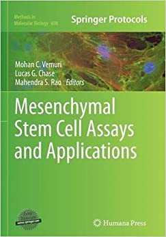 Mesenchymal Stem Cell Assays and Applications (Methods in Molecular Biology)