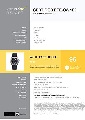Patek Philippe Aquanaut Quartz Male Watch 5064 (Certified Pre-Owned)