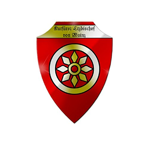 - Prince ore diocese Mainz Electorate Holy Roman Empire coat of arms badge emblem - Escutcheon/Wall Sign
