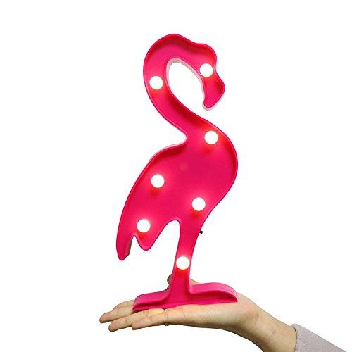 Wanrane Animal Table LightCreative LED Table Light Optional Pattern Home Decorative Lamp Kid Night Light (Color : Pink)