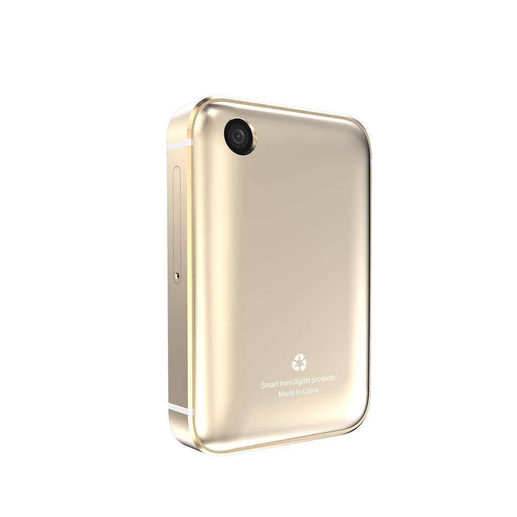 携帯電話携帯電話のロックを解除 I5Sスマートウォッチ携帯電話カード3G大画面サポートTFカードGSMクワッドバンド携帯電話のロックを解除 携帯電話携帯電話のロックを解除 (色 : ブラック) B07R59KR7Z ゴールド