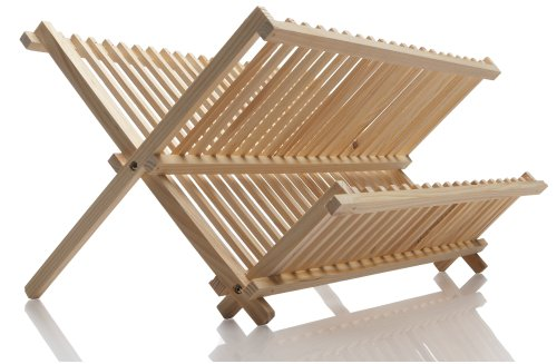 Norpro Pine Wood Folding Dish
