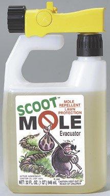 Mole Repellent with Hose End Applicator (Scoot Mole Repellant)