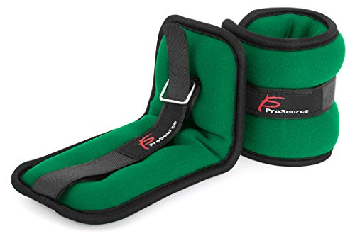 ProSource Ankle Wrist Weights Set of 2, Running Comfort Fit