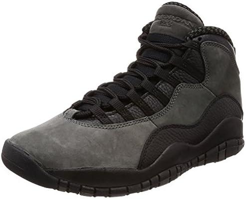 Nike Air Jordan 10 Retro 310805 002 Herren Schuhe Grau EU 41
