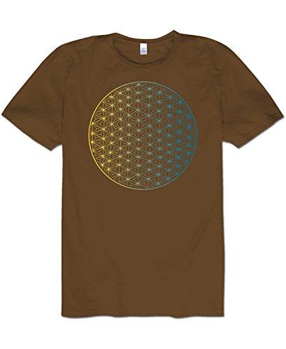 Soul Flower Men's Dark Star Men's Organic T-Shirt (XX-Large)