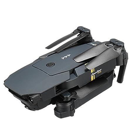 LanLan WiFi FPV avec Grand Angle HD Cam/éra Haute Retenue Mode Pliable Bras RC Quadcopter RTF VS VISUO XS809HW JJRC H37 Eachine E58 200W 1 Battery