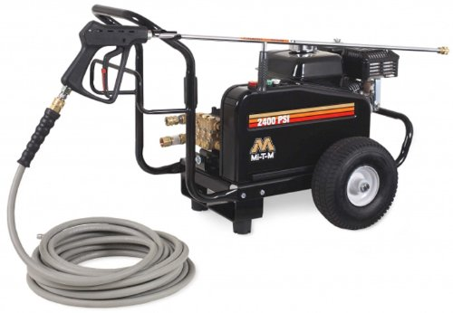 Mi-T-M-JCW-2403-0MHB-JCW-Series-Cold-Water-Belt-Drive-196cc-Honda-OHV-Gasoline-Engine-2400-PSI-Pressure-Washer