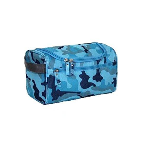 Garrelett Toiletry Bags, Hanging Polyester Zipber Portable Travel Hangbag Totes Bathroom Shower Shaving Toiletries Grooming Pouch Organizer for Men Women Camouflage - Bag Debenhams Sale