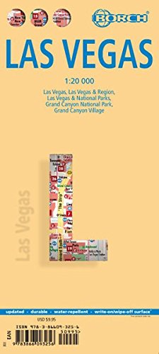 Laminated Las Vegas City Streets Map by Borch (English Edition) pdf