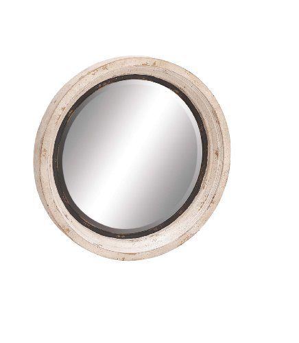 Deco 79 20260 Wood/Metal Wall Mirror, 35
