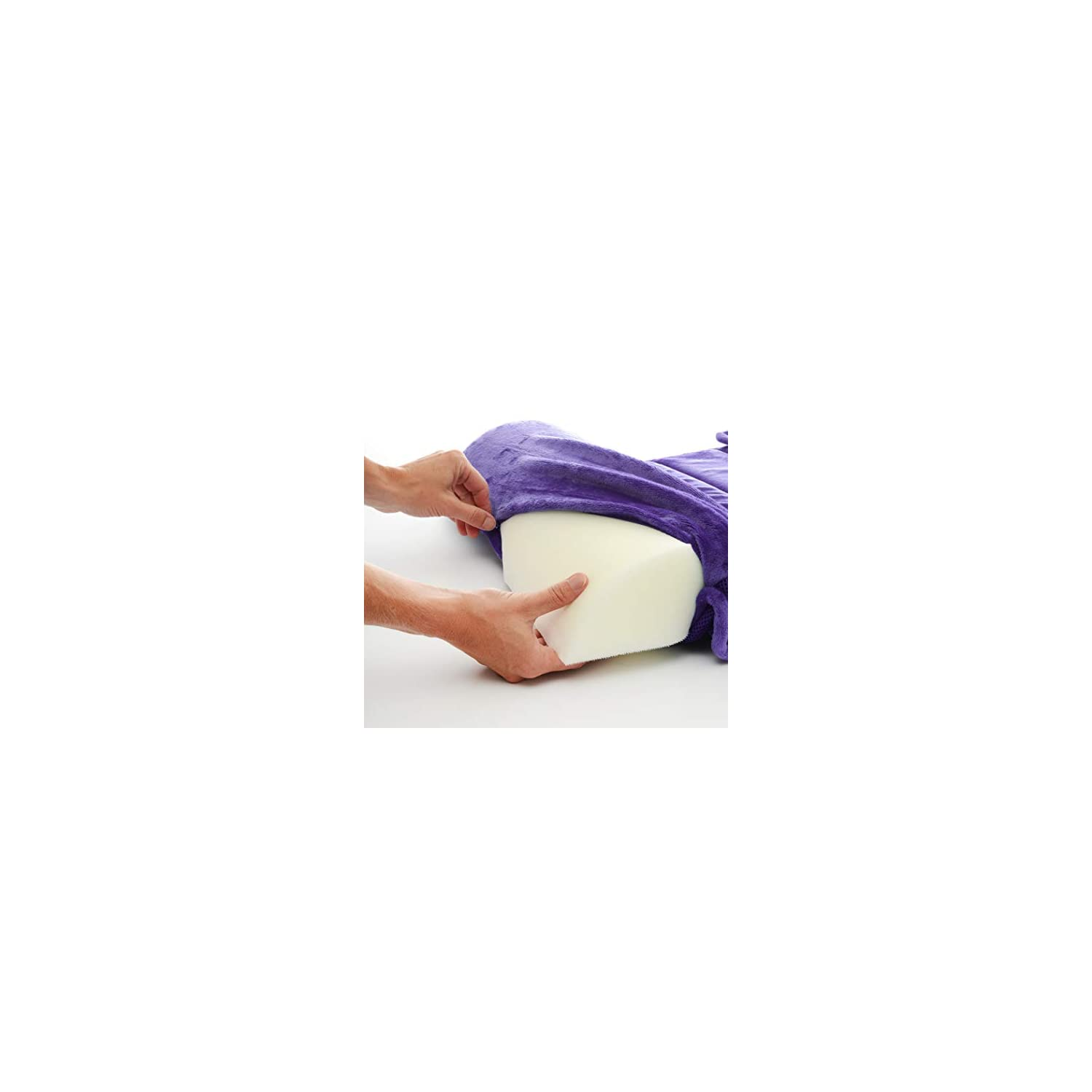 My First Toddler Memory Foam Nap Mat with Removable Pillow, Purple