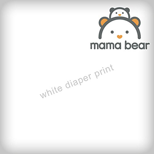 Amazon Brand - Mama Bear Diapers Size 4, 144 Count, White Print (4 packs of 36) by Mama Bear (Image #1)