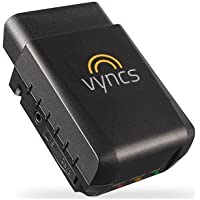 VYNCS Pro No Monthly Fee Connected Car OBD 3G Car GPS Tracker, Real Time GPS, Teen Coaching, Car Health, Fuel Economy, Emission, One year Roadside Assistance Included VPOBDGPS3