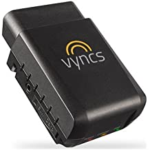 GPS Tracker Vyncs No Monthly Fee OBD, Real Time 3G Car GPS Tracking, Trips, Free 1 Year Data Plan, Teen Unsafe Driving Alert, Engine Data, Fleet Monitoring, Fuel Report, Optional Roadside Assistance