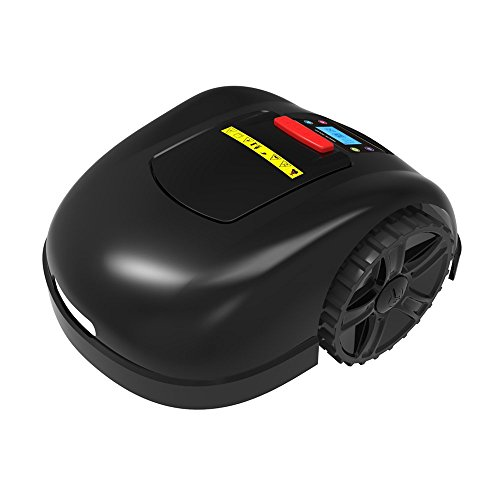 Ancaixin Black Automower Robotic Lawn Mower Wireless Cordless Electric for Home