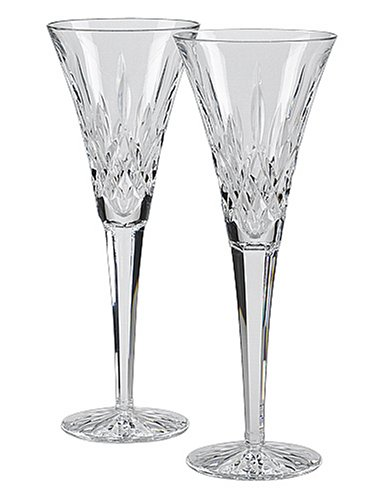 Waterford Lismore Toasting Flutes, Set of - Waterford Stores