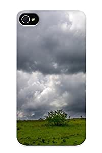 7d7637c6130 Tough Iphone iphone 6 4.7 Case Cover/ Case For Iphone iphone 6 4.7(storm Clouds Over The Meadow ) / New Year's Day's Gift