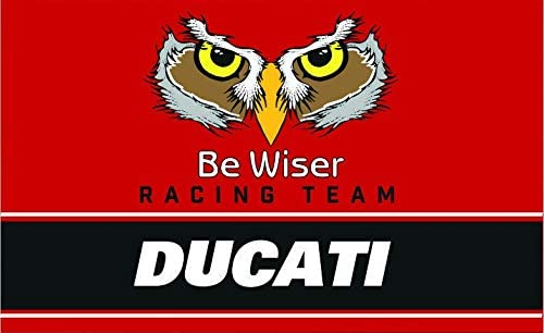 Ducati Be Wiser Racing Team Bike Schwarz Beanie-M/ütze