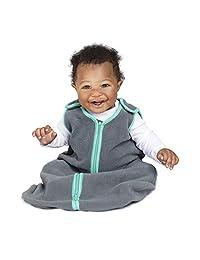 baby deedee Sleep nest fleece baby sleeping bag, Lake Green, Large (18-36 months)