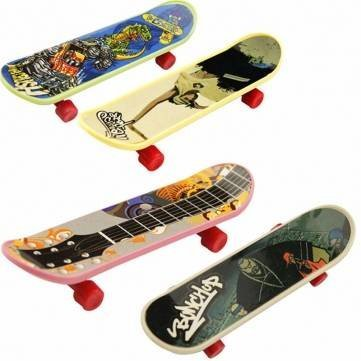 [1PCS 9.3cm Mini Finger Board Tech Deck Truck Skateboard Model Toy For Children Kids To Play by] (Board Game Characters Costumes)