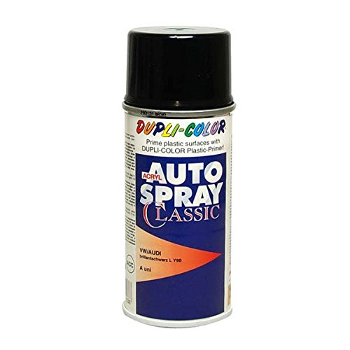 Dupli-Color 461538 Original Auto-Spray, 150 ml, Brillant Black LY9B