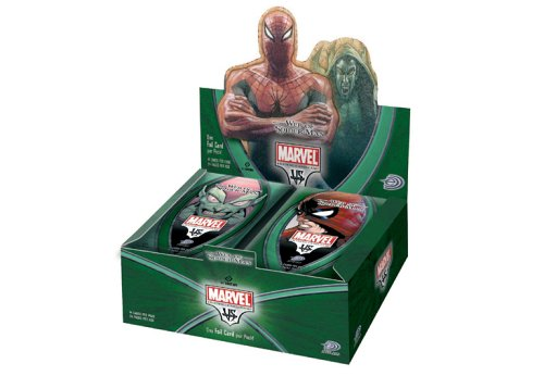 Marvel VS System Trading Card Game Web o - Spider Man Booster Pack Shopping Results