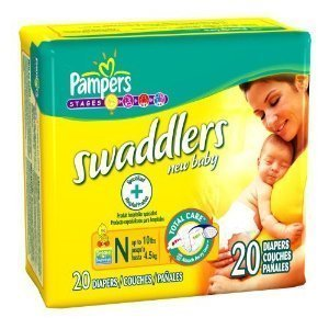Pampers Swaddlers - Newborns 2 Cases of 240 Each