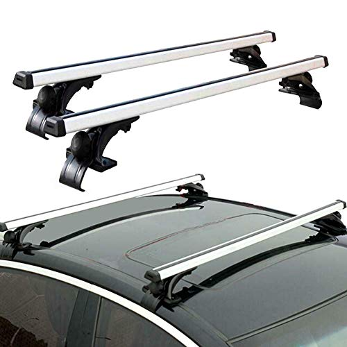 TRIL GEAR 50″ Universal Top Roof Rack Cross Bars Luggage Cargo Carrier Fit For Car or SUV