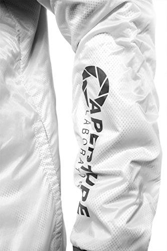Musterbrand Portal Jacke Herren Programmer Leichte Regenjacke Winddicht Weiß