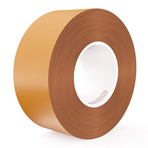(LLPT Duct Tape Premium Grade Residue Free Strong Waterproof Adhesive Multiple Colors Available 2.36 Inches x 108 Feet x 11 Mil Pack Brown(DT241))
