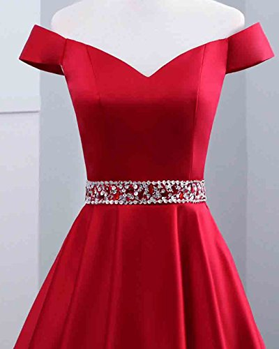 BR13 Homecoming Gown Party Neck V Pockets Short with Womens Dresses Prom Watermelon Sequin HPBnvWc