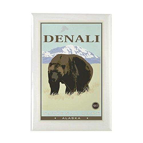 CafePress National Parks - Denali Rectangle Magnet, 2
