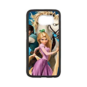 Samsung Galaxy S6 Phone Case Black Of tangled tangled6717224 1600 1200 Y4KR