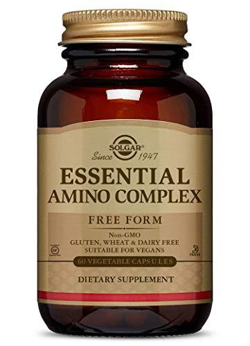 Solgar - Essential Amino Complex, 60 Vegetable Capsules