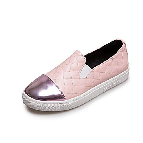 zapatos manera profunda/Calzado Lazy/Plano casuales zapatos/Zapatos del estudiante D