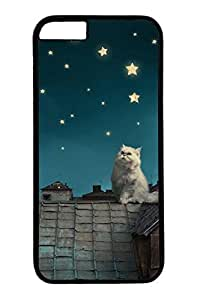 Cats On The Roof Slim Hard Cover Case For Sumsung Galaxy S4 I9500 Cover PC Black Cases