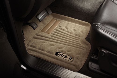 Lund 583004-T Catch-It Carpet Tan Front Seat Floor Mat Set of 2