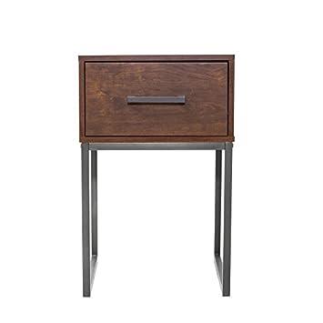 Alpine Furniture 2702 Louis Philippe II Nightstand, King, Cherry
