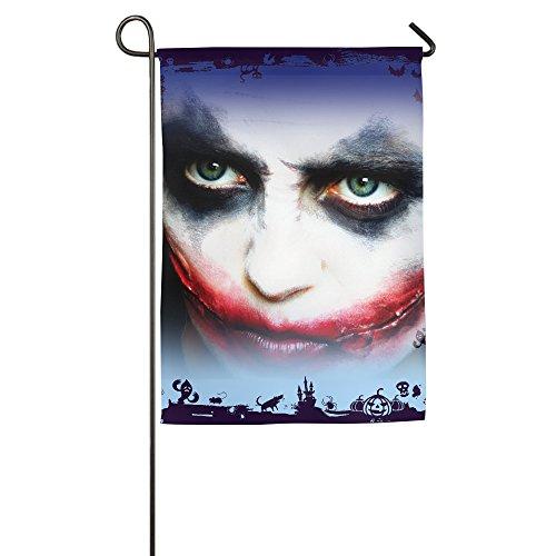 [Joker Halloween Gift Horror Movie Decorative Garden Flags] (Halloween Toronto Costumes)