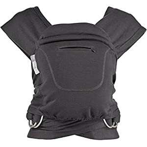 Caboo + Cotton Blend - Multi Position Baby Carrier (Graphite)