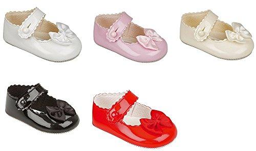 Baypods , Baby Mädchen Krabbelschuhe & Puschen Weiß cremefarben 6-12 Monate