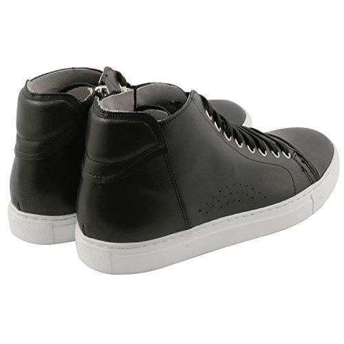 Cody exclusivo Paris Derbies, zapatos de hombre para hombre Negro - negro