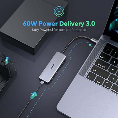 Huawei Aluminio Adaptador -Garant/ía de por Vida- Compatible para MacBook Pro 2016//2017 Samsung OTG Gris,2 Unidades Rampow Adaptador USB Tipo C a USB 3.1 ChromeBook Pixel y dispositivos con USB C