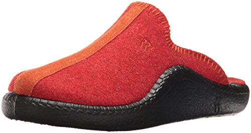 Orange Slipper ROMIKA on Red Women's Slip Mokasso 62 nqUTq08H