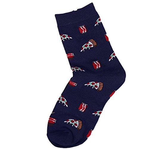 Shuohu Men's Middle Tube Socks, Fashion Spring Character Cartoon Print Casual Cotton Short - Packages Uk Triathlon