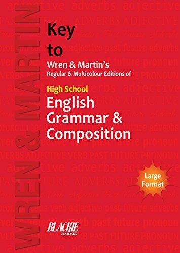 High School English Grammar and Composition Key (Building Wren)