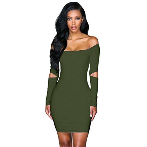 hot green club dresses - 2